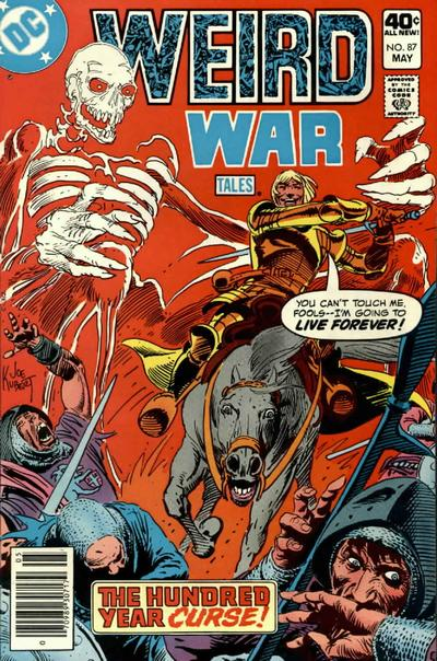 Cover for Weird War Tales (DC, 1971 series) #87