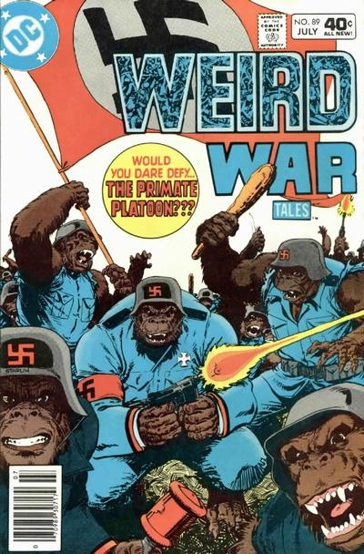 Cover for Weird War Tales (DC, 1971 series) #89