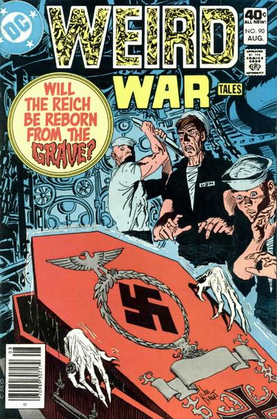 Cover for Weird War Tales (DC, 1971 series) #90