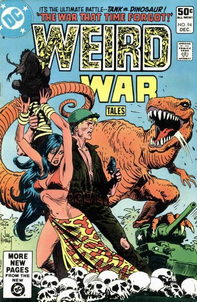 Cover for Weird War Tales (DC, 1971 series) #94 [Direct Sales]