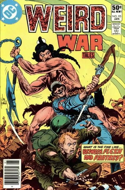 Cover for Weird War Tales (DC, 1971 series) #95 [Direct Sales]