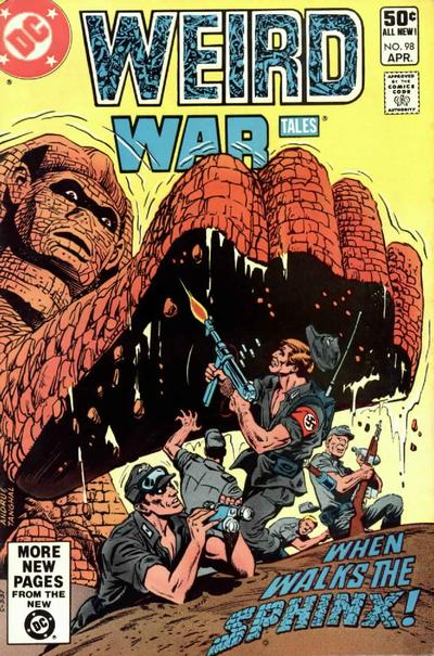 Cover for Weird War Tales (DC, 1971 series) #98 [Direct Sales]