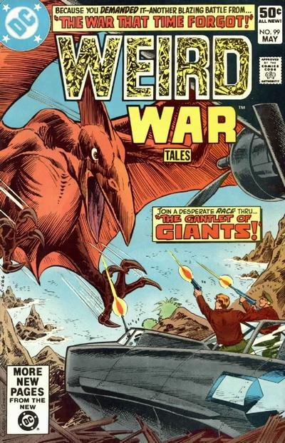 Cover for Weird War Tales (DC, 1971 series) #99 [Direct Sales]