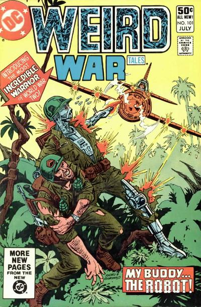 Cover for Weird War Tales (DC, 1971 series) #101