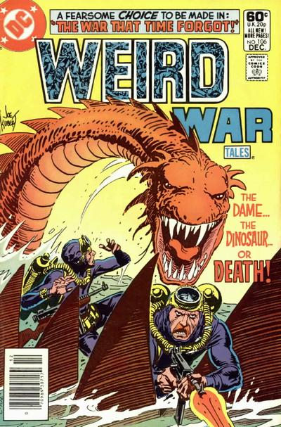Cover for Weird War Tales (DC, 1971 series) #106