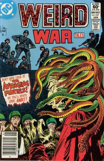 Cover for Weird War Tales (DC, 1971 series) #107