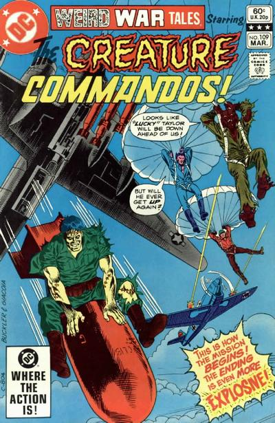 Cover for Weird War Tales (DC, 1971 series) #109 [Direct Sales]