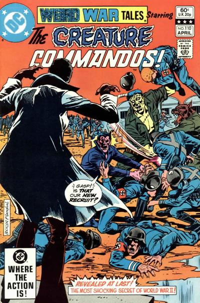 Cover for Weird War Tales (DC, 1971 series) #110