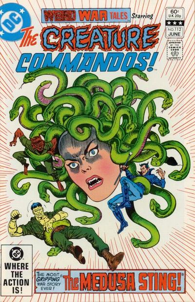 Cover for Weird War Tales (DC, 1971 series) #112 [Direct Sales]