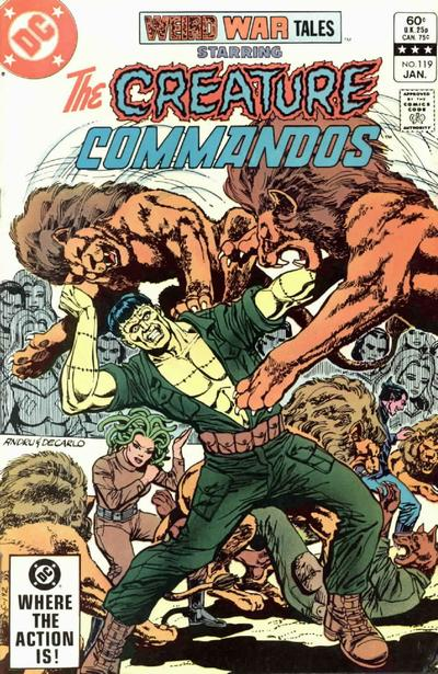 Cover for Weird War Tales (DC, 1971 series) #119