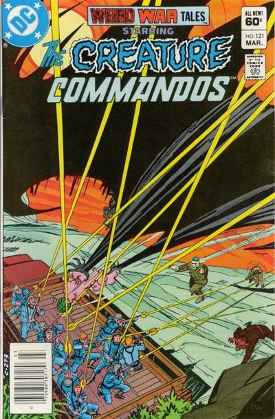 Cover for Weird War Tales (DC, 1971 series) #121 [Direct-Sales]