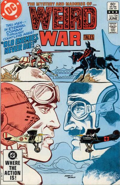 Cover for Weird War Tales (DC, 1971 series) #124 [Direct-Sales]