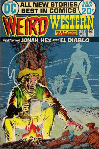 Cover for Weird Western Tales (DC, 1972 series) #13