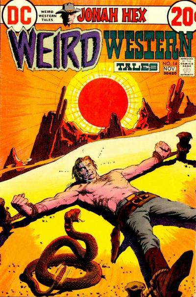 Cover for Weird Western Tales (DC, 1972 series) #14