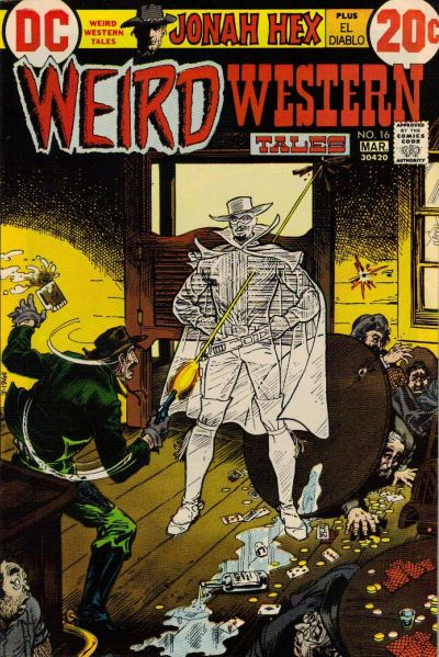 Cover for Weird Western Tales (DC, 1972 series) #16