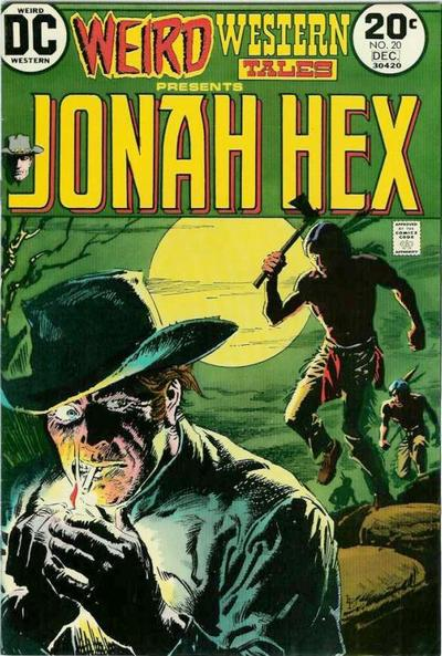 Cover for Weird Western Tales (DC, 1972 series) #20