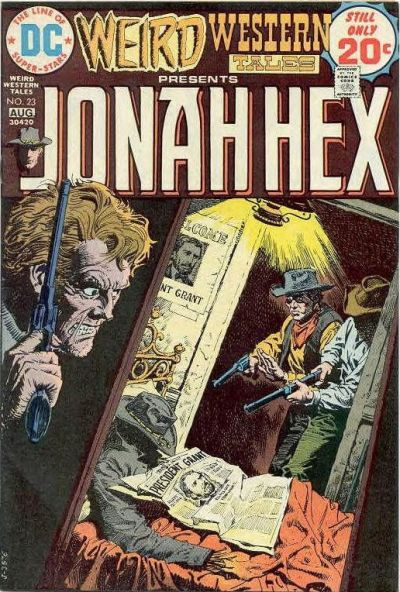 Cover for Weird Western Tales (DC, 1972 series) #23