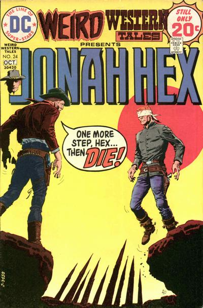 Cover for Weird Western Tales (DC, 1972 series) #24