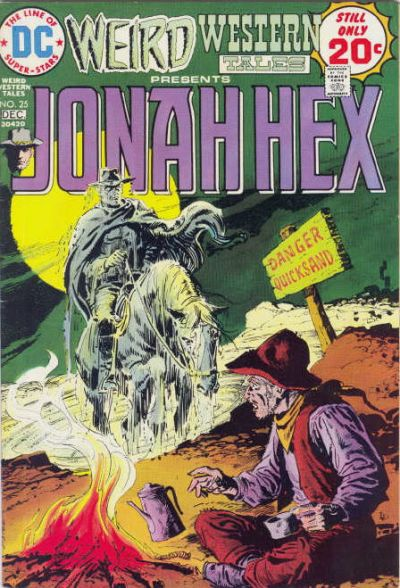 Cover for Weird Western Tales (DC, 1972 series) #25