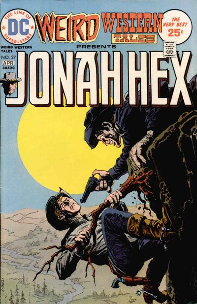 Cover for Weird Western Tales (DC, 1972 series) #27