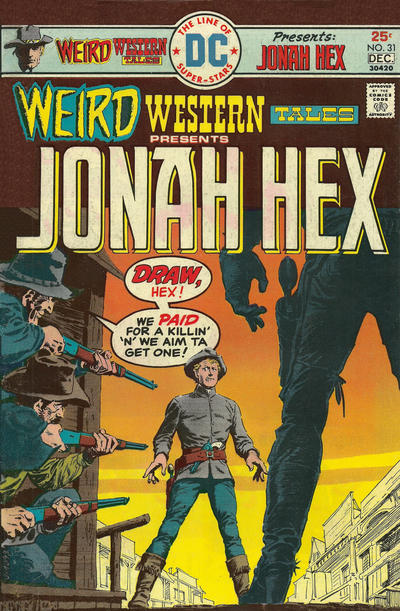Cover for Weird Western Tales (DC, 1972 series) #31