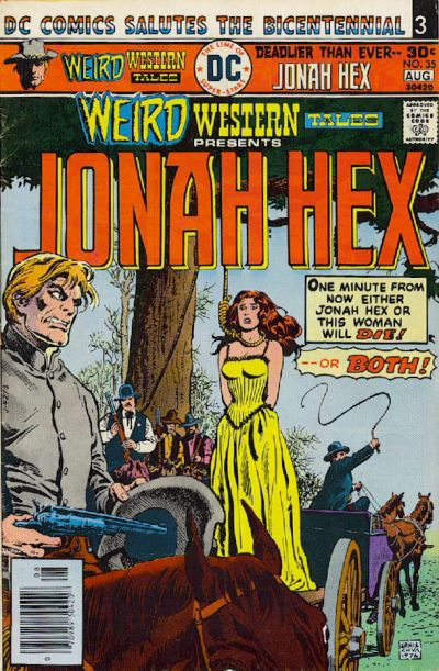 Cover for Weird Western Tales (DC, 1972 series) #35