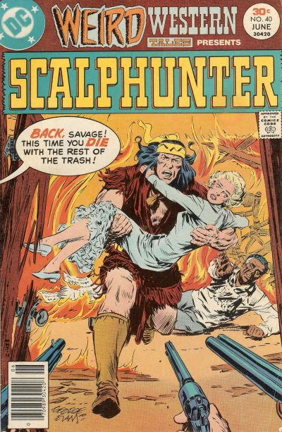 Cover for Weird Western Tales (DC, 1972 series) #40