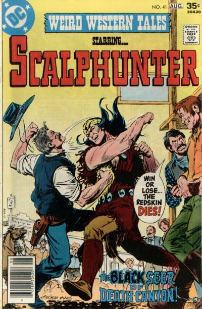 Cover for Weird Western Tales (DC, 1972 series) #41