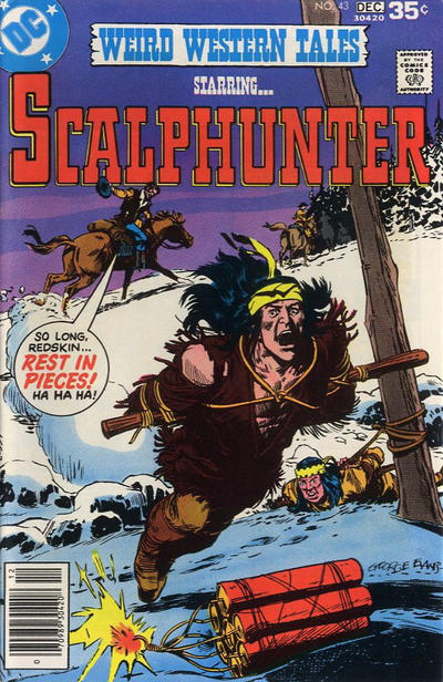 Cover for Weird Western Tales (DC, 1972 series) #43