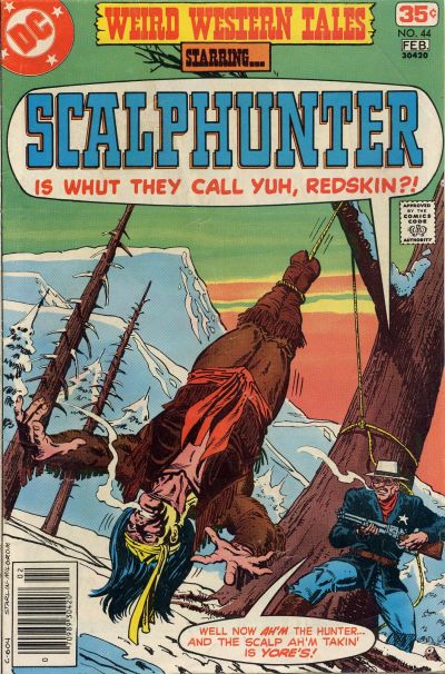 Cover for Weird Western Tales (DC, 1972 series) #44