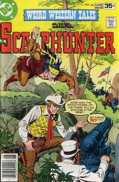 Cover for Weird Western Tales (DC, 1972 series) #46