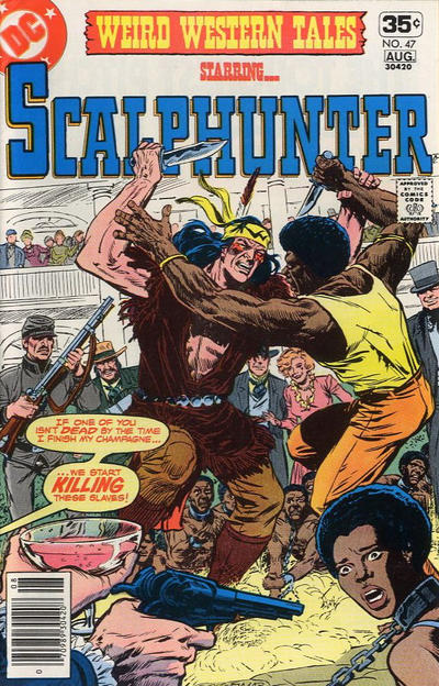 Cover for Weird Western Tales (DC, 1972 series) #47