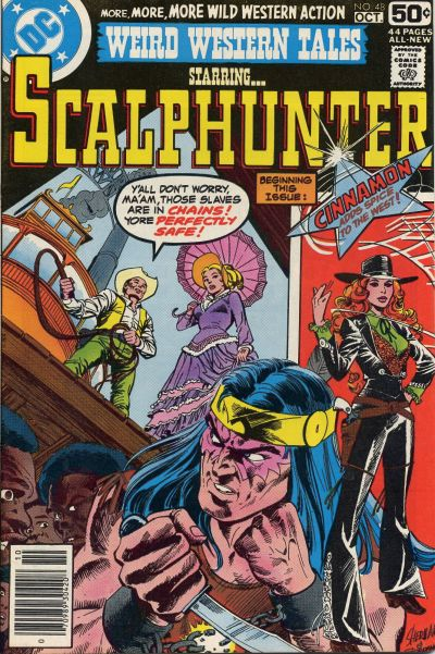 Cover for Weird Western Tales (DC, 1972 series) #48