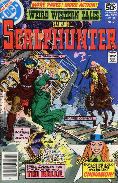 Cover for Weird Western Tales (DC, 1972 series) #49