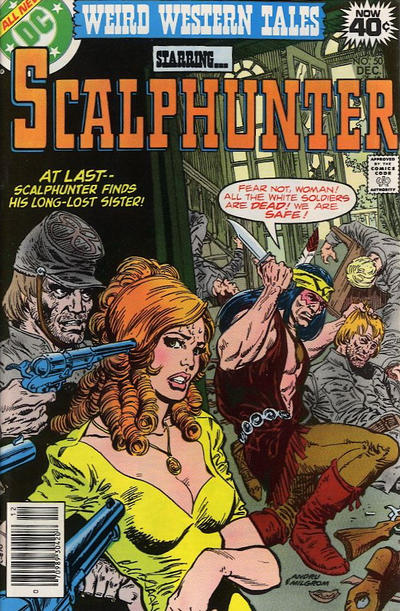 Cover for Weird Western Tales (DC, 1972 series) #50