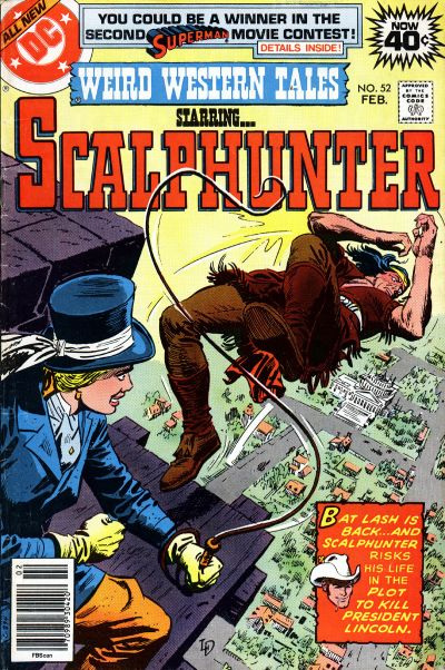 Cover for Weird Western Tales (DC, 1972 series) #52