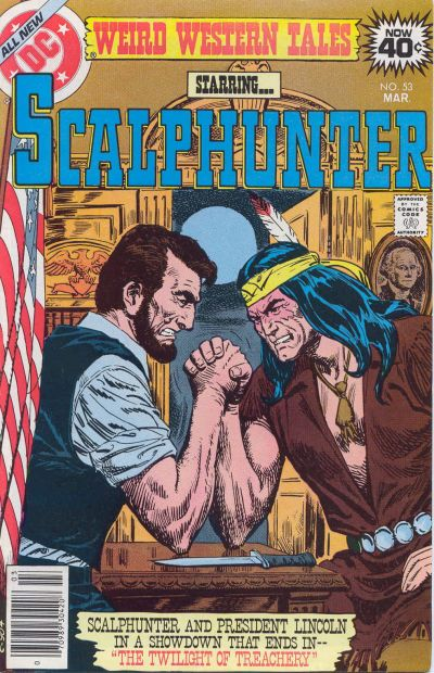 Cover for Weird Western Tales (DC, 1972 series) #53