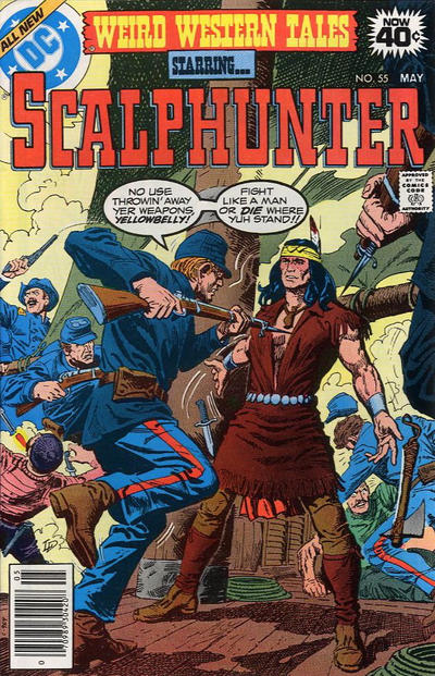 Cover for Weird Western Tales (DC, 1972 series) #55
