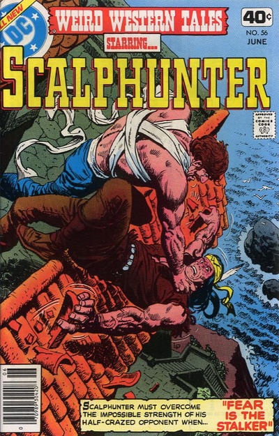 Cover for Weird Western Tales (DC, 1972 series) #56