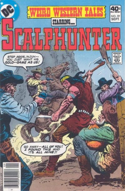 Cover for Weird Western Tales (DC, 1972 series) #59