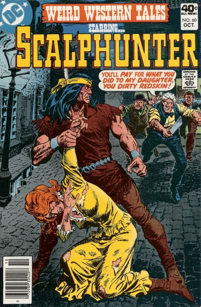 Cover for Weird Western Tales (DC, 1972 series) #60