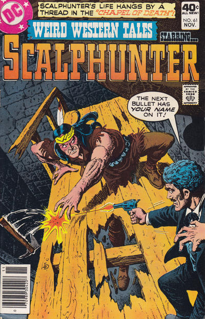 Cover for Weird Western Tales (DC, 1972 series) #61