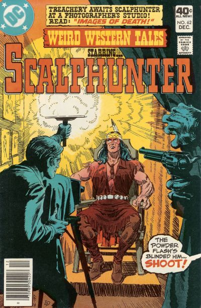Cover for Weird Western Tales (DC, 1972 series) #62