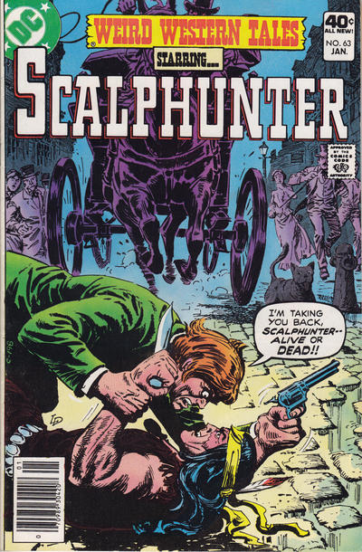 Cover for Weird Western Tales (DC, 1972 series) #63