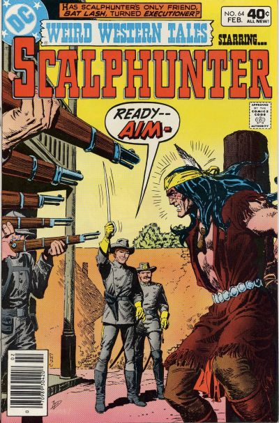 Cover for Weird Western Tales (DC, 1972 series) #64