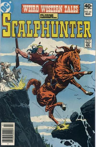 Cover for Weird Western Tales (DC, 1972 series) #65