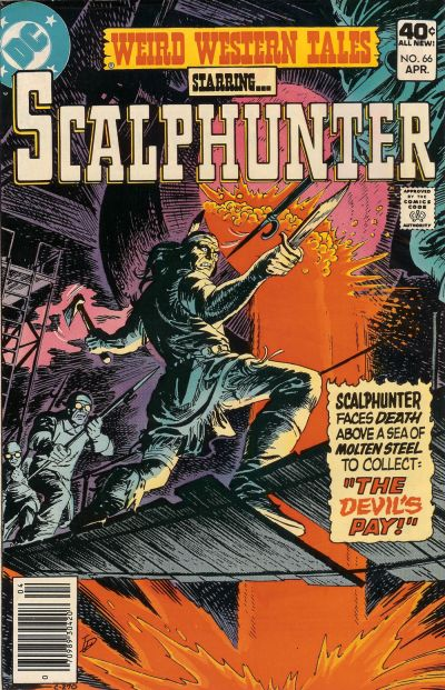 Cover for Weird Western Tales (DC, 1972 series) #66