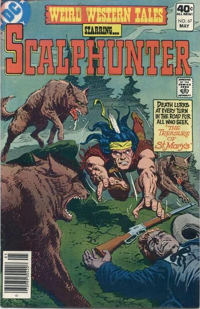 Cover for Weird Western Tales (DC, 1972 series) #67