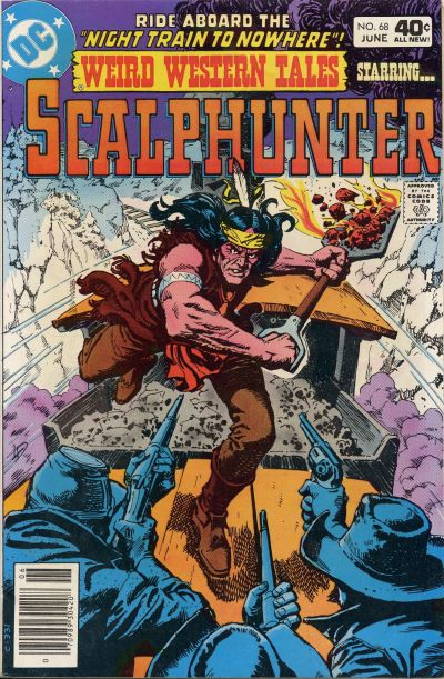 Cover for Weird Western Tales (DC, 1972 series) #68