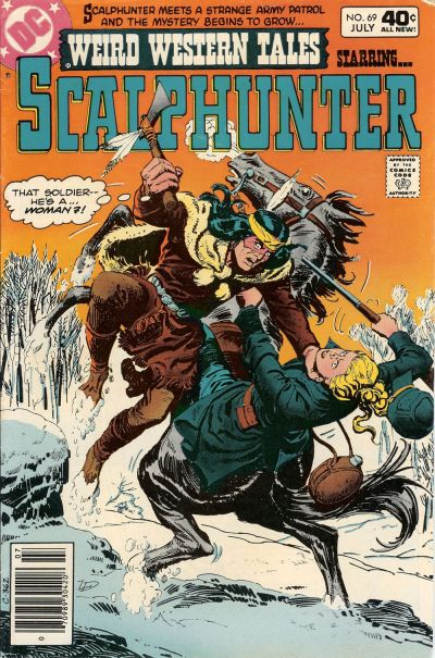 Cover for Weird Western Tales (DC, 1972 series) #69